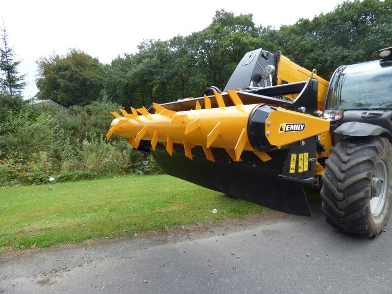 Rotor sur châssis Cyclone