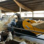 Godet pailleur à turbine hydraulique Sigma