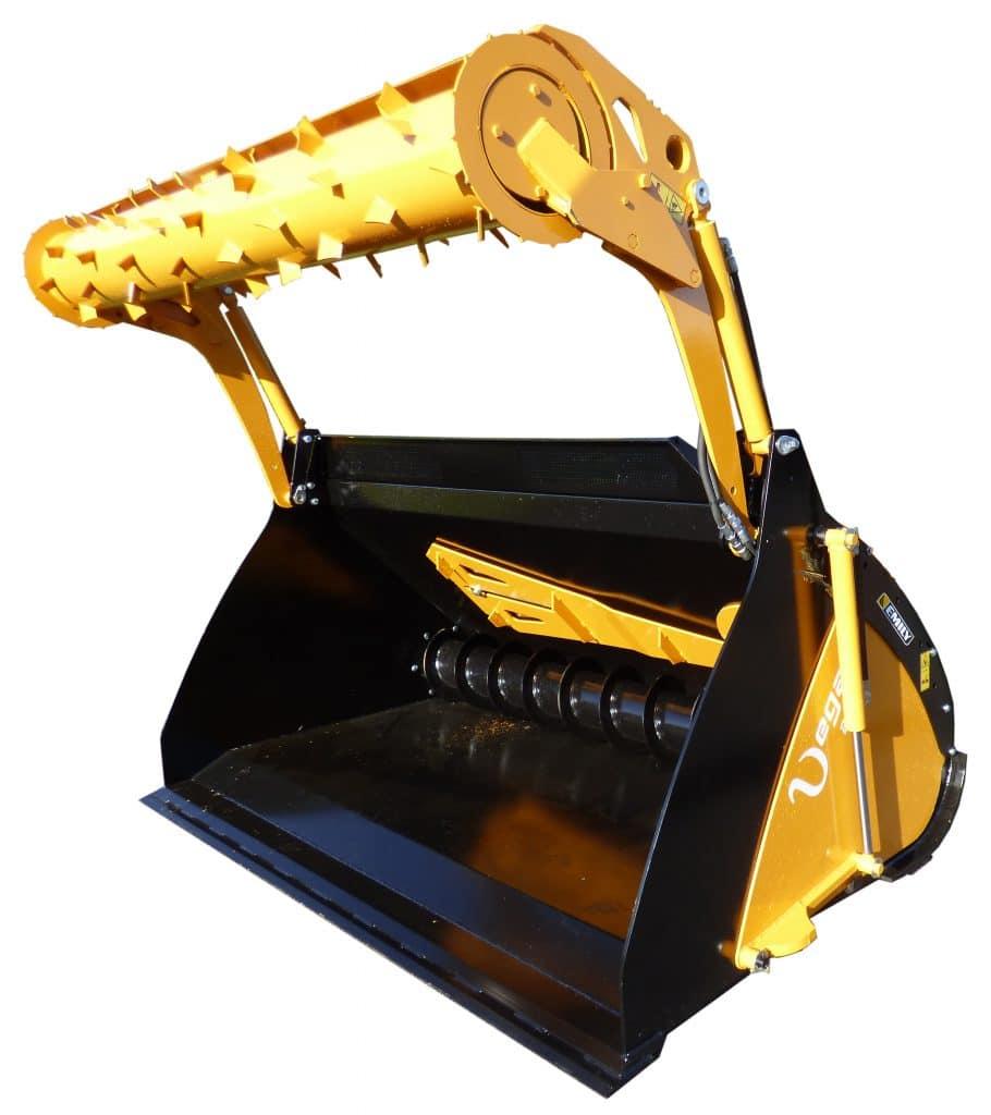 Image Godet à vis avec rotor de désilage Vega'max